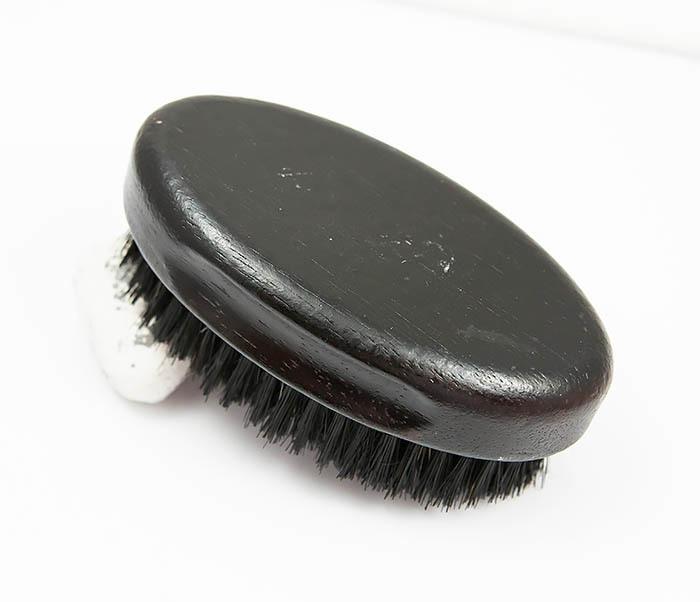 RAZ349 Большая щетка для бороды из щетины кабана фото 04