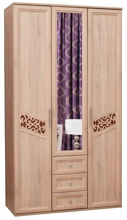 Шкаф 3-х дверный Ольга 14