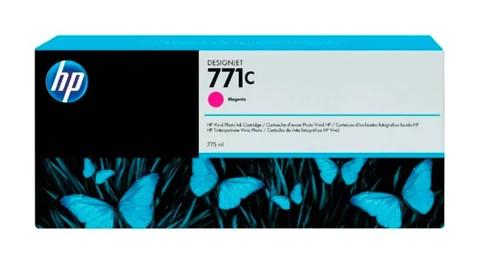 Оригинальный картридж струйный HP B6Y09A (№771C) пурпурный