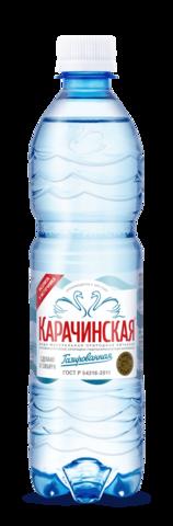 """Минеральная вода """"Карачинская"""" 0,5л"""