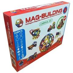 Магнитный конструктор 138 деталей Mag Building