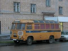 PAZ-672M Police Soviet Bus (SOVA) 1:43