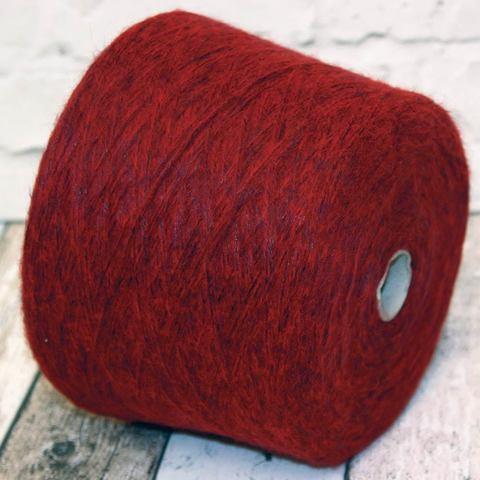 Смесовка с мохером COFIL WANDA 250 темно-красный