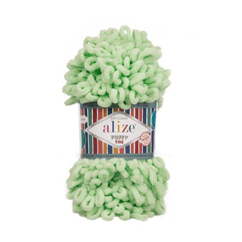 Купить Пряжа Ализе Пуффи Файн Код цвета 516 | Интернет-магазин пряжи «Пряха»
