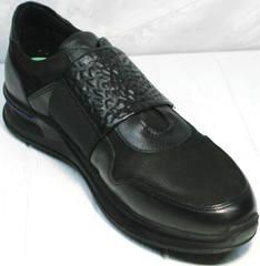 Кроссовки сникеры мужские Luciano Bellini 1087 All Black