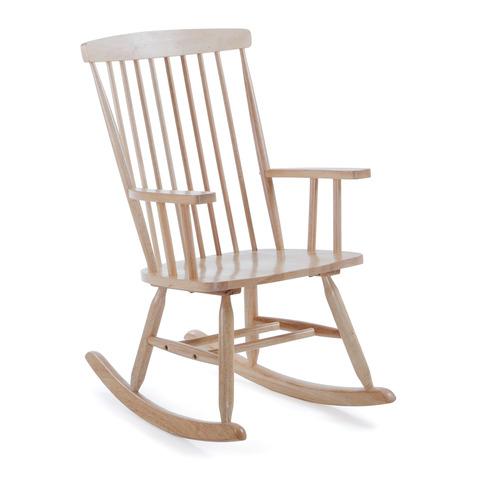 Кресло-качалка Terence натуральное дерево