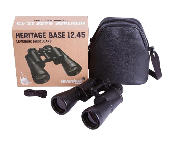 Бинокль Levenhuk Heritage BASE 12x45 - фото 2