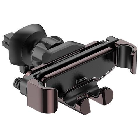 Автомобильный держатель Hoco S25 Guide gravity Air /black/