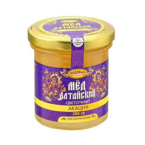 Акациевый алтайский мёд 200 г