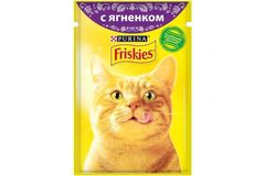 Корм для кошек Friskies с ягненком 85г