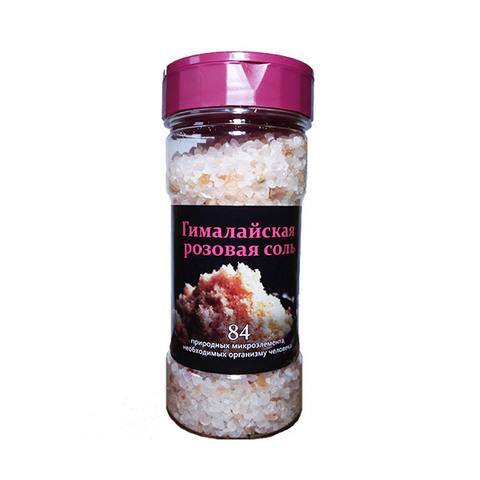 Соль пищевая гималайская, Русская Соль, розовая, 230 г