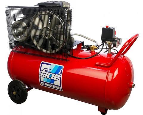 Поршневой компрессор FIAC AB 100-360 A вид слева