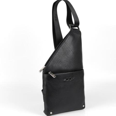Мужская нагрудная сумка из кожи HT-070