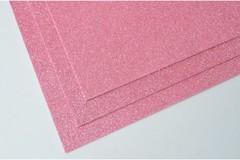 Фоамиран глиттерный 2 мм, А4, 1 лист.