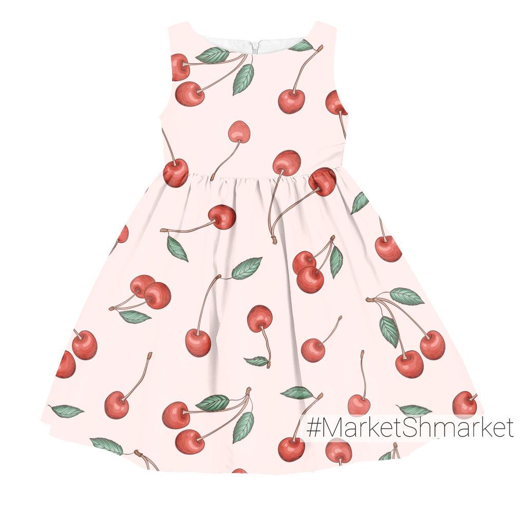 Черешня на розовом