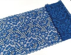 Набор 1. Минимальный: для пошива бра без каркасов и трусиков. синий океан и серебристый пион,EK-1084
