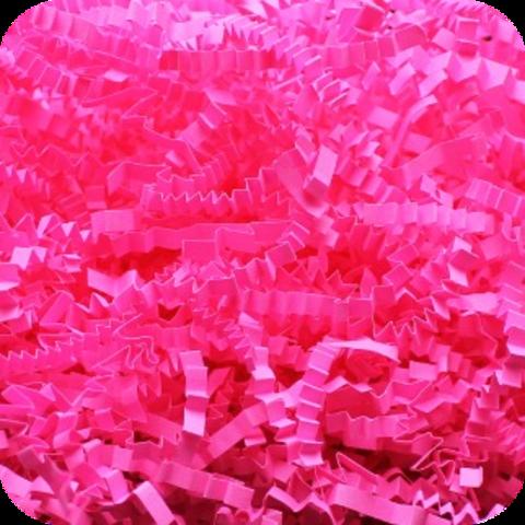 Бумажный наполнитель. Розовый неон