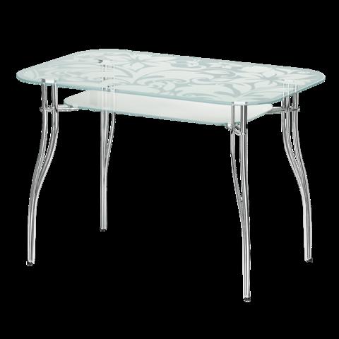 Стол стеклянный прямоугольный В2
