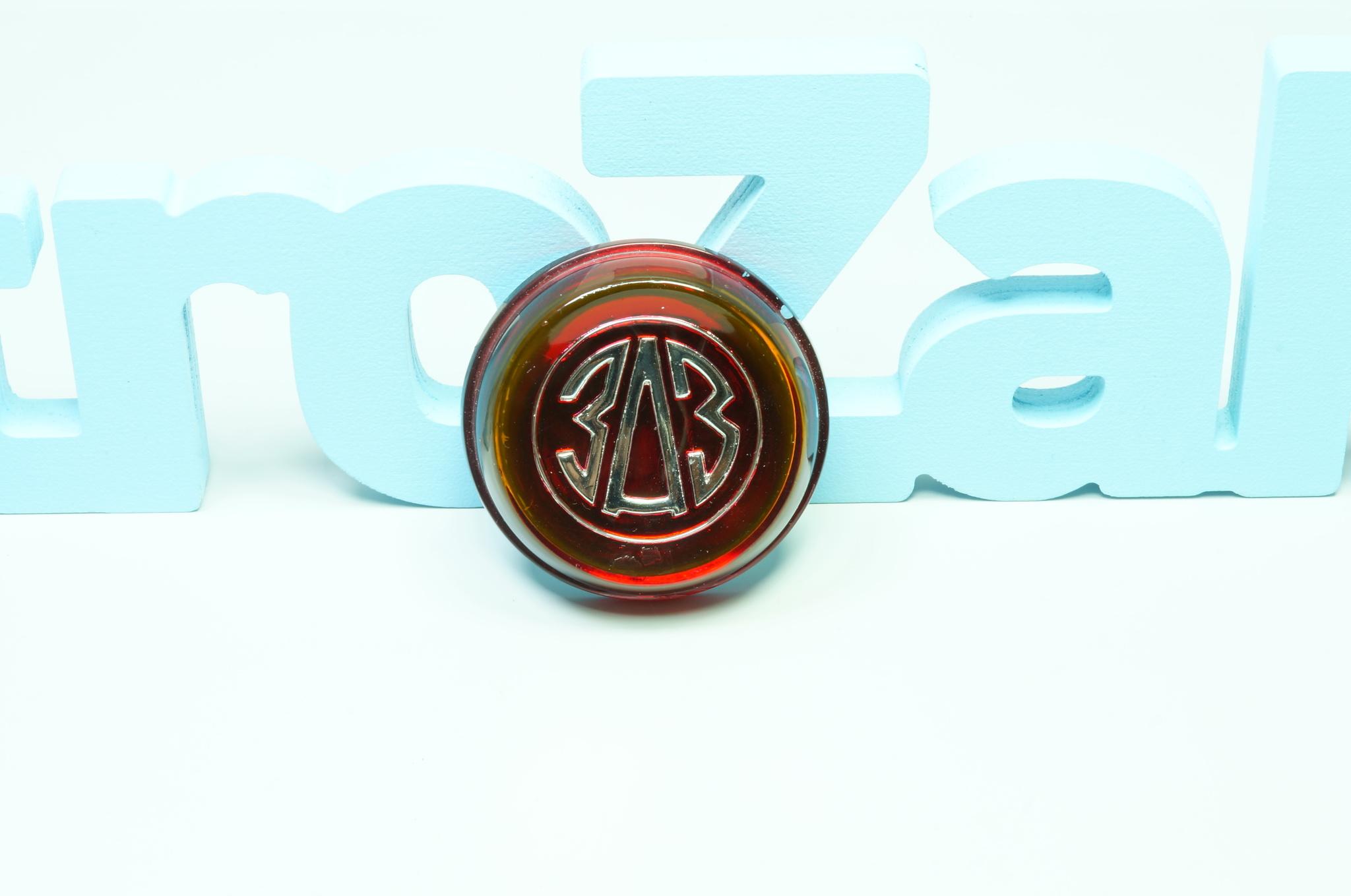 Эмблема руля Заз 965 Горбатый Бордовый