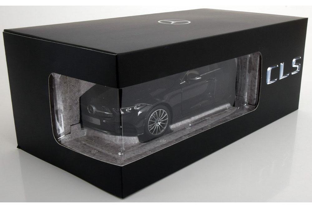 Коллекционная модель MERCEDES-BENZ C257 CLS AMG-LINE COUPE 2018 DARK GREY