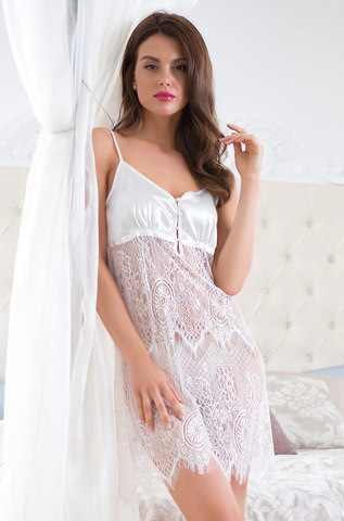 Сорочка женская с кружевом  MIA-MIA Magdalena Магдалена 17430