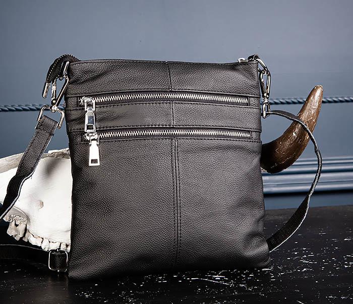 BAG538-1 Мужская сумка планшет с ремнем через плечо фото 04