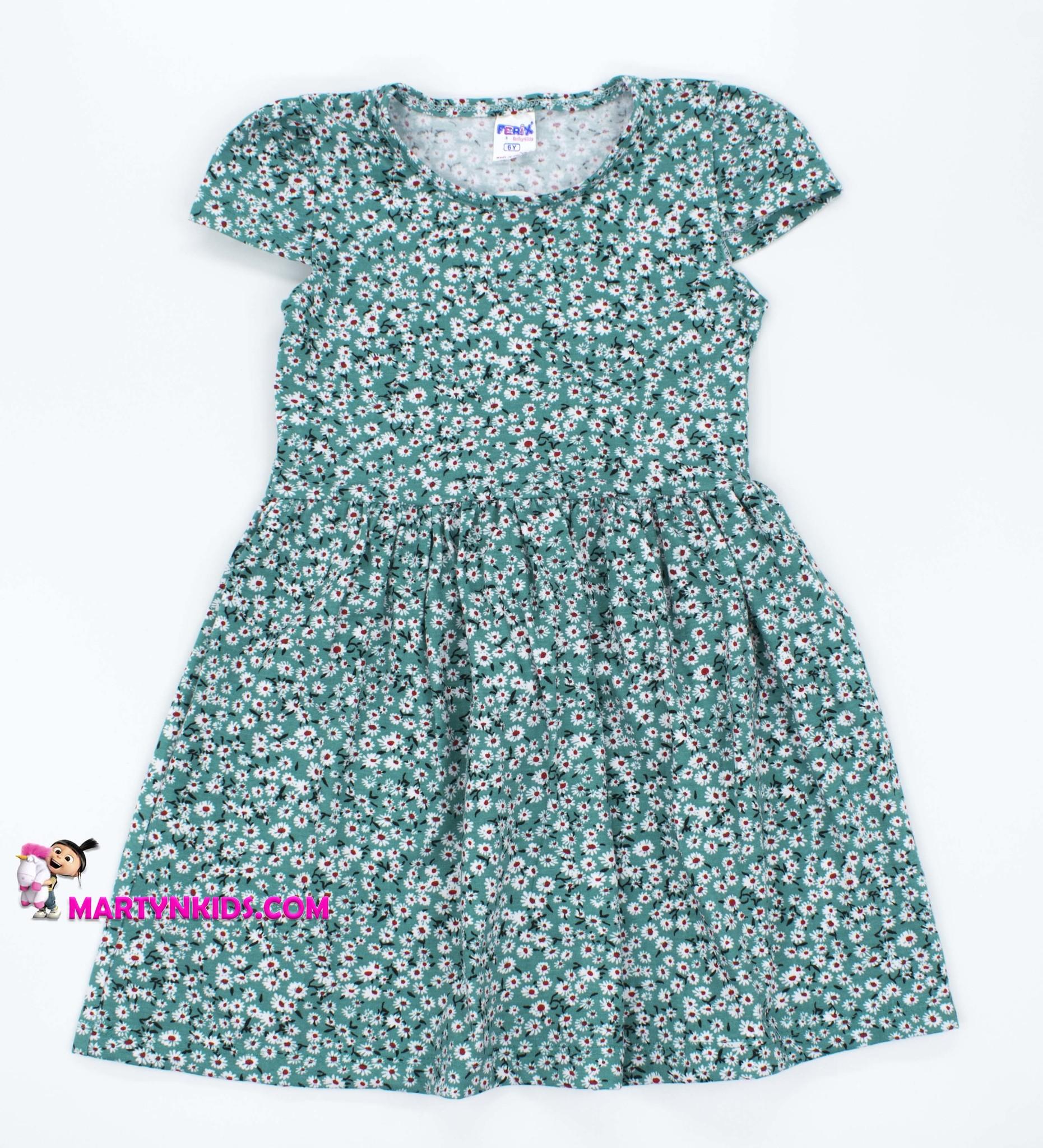 2419 платье Цветочный луг