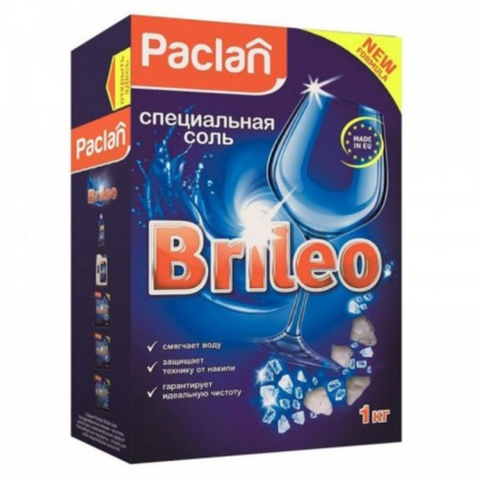Соль д/посудомоечных машин PACLAN  1 кг