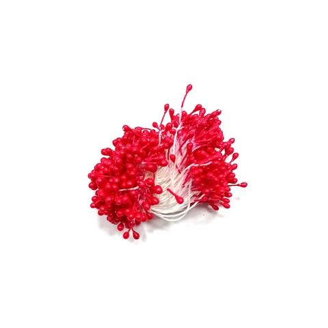 Тычинки для цветов, красные, 50 шт