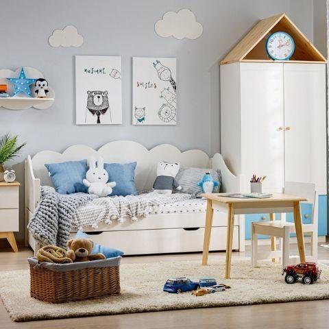 Детская кровать от 3 лет Кидс 28
