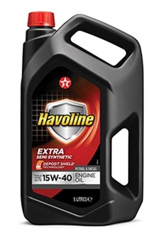 HAVOLINE EXTRA 15W-40 моторное масло TEXACO 5 литров