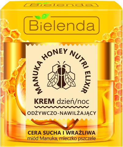MANUKA HONEY Питательный и увлажняющий крем для сухой и чувствительной кожи, 50 мл