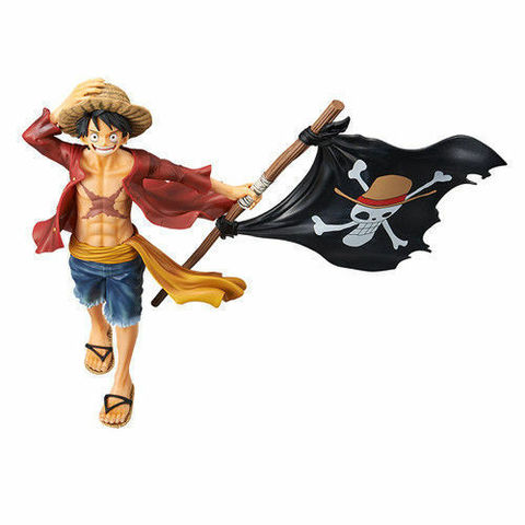 Фигурка One Piece - Monkey D. Luffy || Луффи с флагом