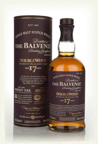 Balvenie Doublewood 0,7 L 43 % 17 Years Old