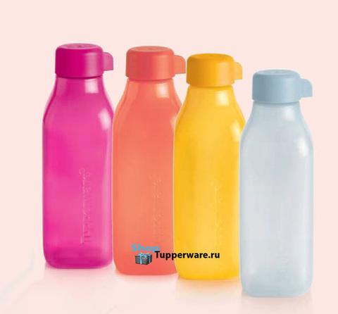Эко бутылки квадратные 2021г.