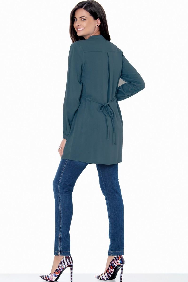 Блузка для беременных 01384 серый