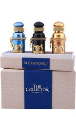 ALEXANDRE.J Набор The Collector 3 шт. по 8мл.