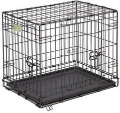 Клетка MidWest  iCrate 91х58х64h см 2 двери черная