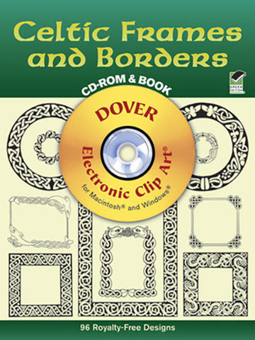 9780486999746 - Celtic Frames and Borders CD-ROM and Book