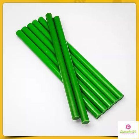 Клеевой стержень зелёный 11 мм 1 шт