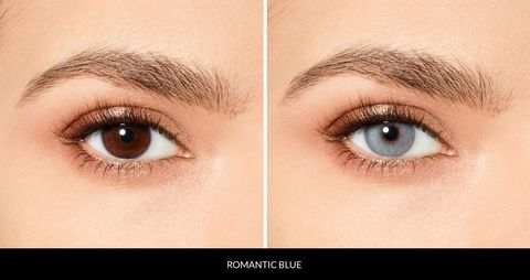 Голубые линзы Desio ROMANTIC BLUE