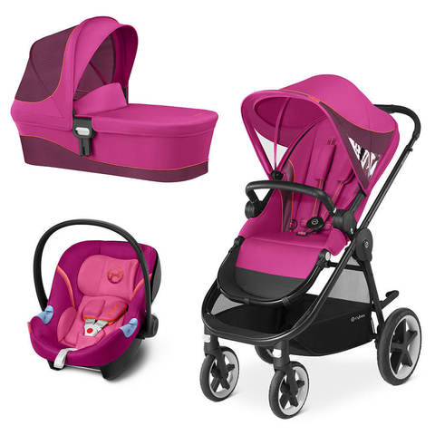 Детская коляска Cybex Balios M 3 в 1 Passion Pink
