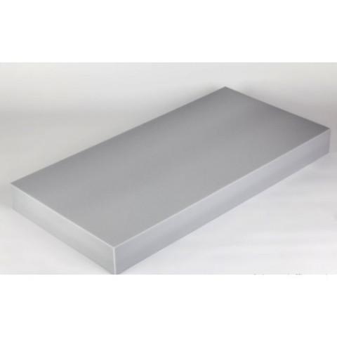 негорючая  акустическая панель ECHOTON FIREPROOF 100x50x10cm  из материала   меламин серый