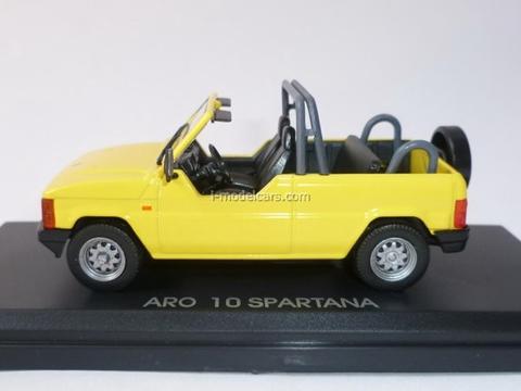 ARO 10 Spartana yellow 1:43 DeAgostini Masini de legenda #59
