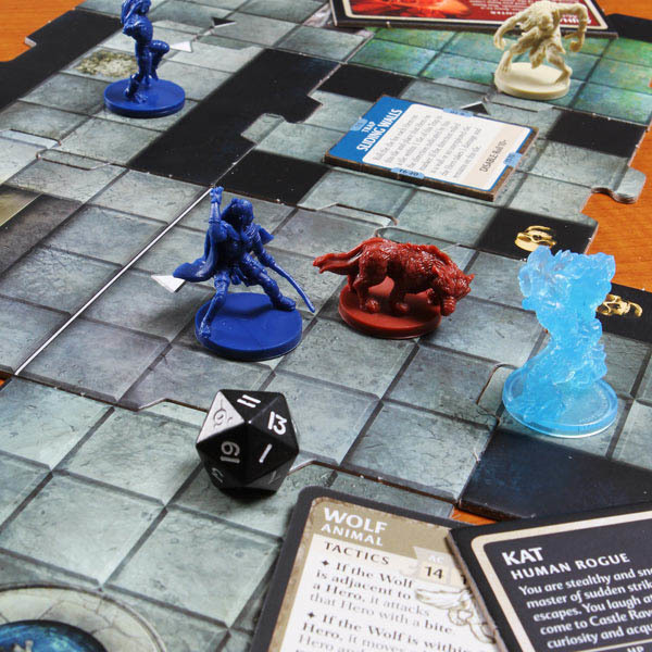 Настольная игра Dungeons & Dragons: Castle Ravenloft (D&D: Равенлофт)