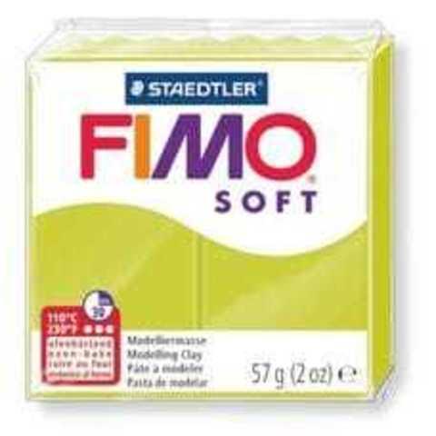 Fimo Soft зеленый лайм