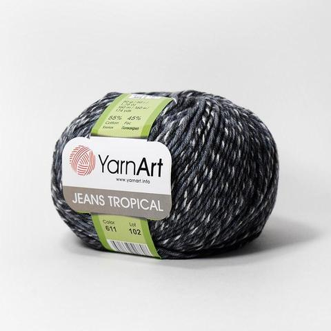 Пряжа YarnArt Jeans Tropical цвет 611