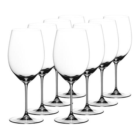 Набор из 8-и бокалов для вина Cabernet/Merlot Pay 6 Get 8  625 мл, артикул 7449/0. Серия Riedel Veritas