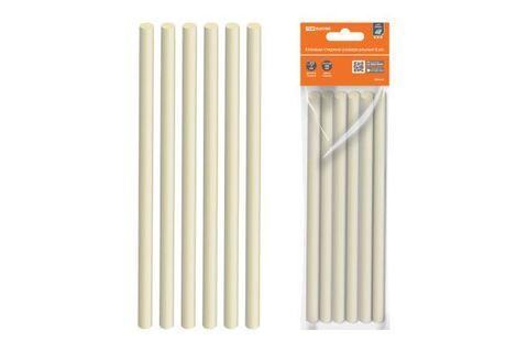 Клеевые стержни универсальные, 11,3 мм x 200 мм, 6 шт,