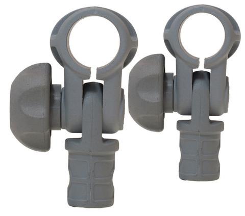 Наклонное соединение для труб Tf022-2, Ø 22 мм, 2 шт, серое
